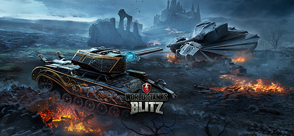 Halloween w World of Tanks Blitz